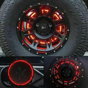 For Jeep Wrangler 86 2019 Spare Tire Brake Light Led Third Brake Light Lamp Ring