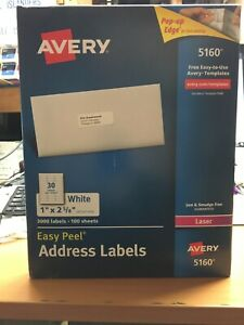 Avery Easy Peel Address Labels 5160