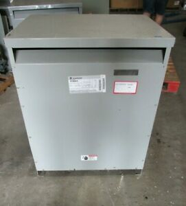 General Electric 3 Phase Transformer 112 5 Kva Cat 9t23b3875 Od 432