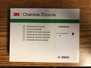 3m Chairside Zirconia Dental Crown Blocks A2 Cerec Crowns