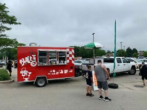 2014 7 X 12 Food Concession Trailer Mobile Kitchen For Sale In Illinois