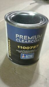 Premium Clear Coat 1100727 2 1 Voc Matte Clearcoat Sherwin Williams