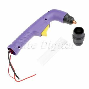 S45 Plasma Cutting Torch Body Hand Torch Head Air Cooled For Trafimet Consumable