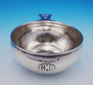 Lebolt Sterling Silver Porringer Arts And Crafts Hammered 294 3481