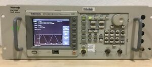 Tektronix Afg3021b Arbitrary Function Generator 250ms s 25mhz Single Channel