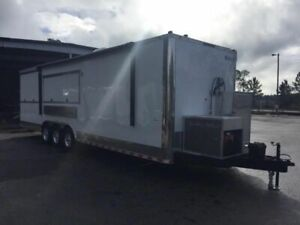 2018 8 5 X 35 Bbq Concession Trailer Mobile Kitchen For Sale In Florida