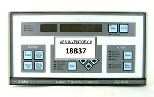 Met One 2083226 01 Laser Particle Counter A2400 1 115v 1 Tested Working