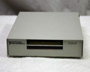 National Instruments Scb 68 Shielded Connector Block For Daq Data Acquisition