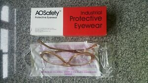 10 Pair Of Vintage A o Safety Glasses Plastic Lenses Side Shields U s a