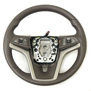 Gm Oem Steering Wheel W Controls 2013 2015 Chevrolet Malibu 20957477 Cocoa