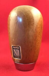 Nardi Special Edition Teardrop Wood Shift Knob Mazda Miata Mx 5 Rare Grid Free