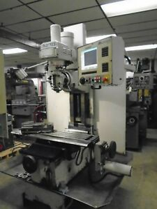 Milltronics Mb18 3 axis Cnc Vertical Bed Mill Milling Machine Clearance Priced