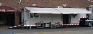 2003 36 Roadmaster Gooseneck Kitchen Food Concession Catering Trailer For S