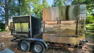 Commercial Bbq Grill And Smoker Trailer For Sale In Kentucky
