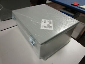 Hoffman Nvent Metal Electrical Enclosure Jic Box a1210ch New