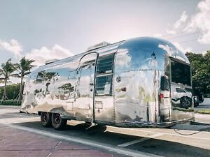 Fully Restored Vintage 26 Airstream Mobile Boutique Used Fashion Trailer For