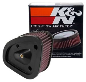 K n Hi flow Air Intake Filter Hd 1717 For 2017 2019 Harley Davidson see Detail