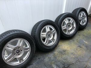 Set Of 4 G class Rims And Tires 18 Mercedes benz Factory Stock Wheels 65266