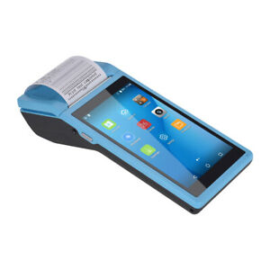 Android6 0 Wireless Smart Pda Printer Barcode Scanner Handheld Pos Terminal J0l0