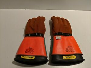kunz Glove Company 1007 Size 11 Pair 14in 14 Rubber Insulating Gloves
