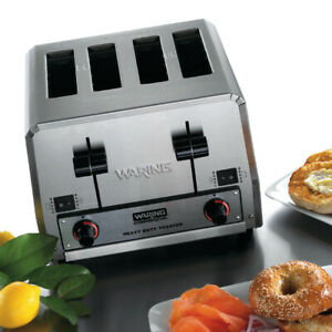 Waring Wct850rc Commercial Bread Bagel Combination Toaster 120 Volts Blow Out