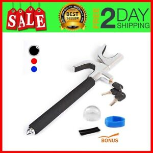 Car Lock Steering Wheel Lock Universal Truck Auto Adjustable Anti theft