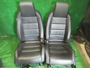 2013 Volkswagen Jetta Golf Gti Front Leather Bucket Seats W Heat