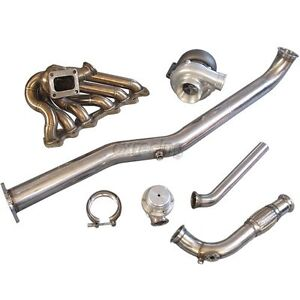 Cxracing Gt35 Turbo Kit Manifold Wg For Lexus Is300 2jzgte 2jz Gte Swap