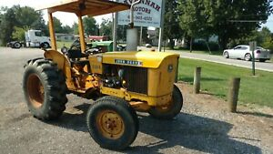 1975 John Deere 301a 2 7 Gas 3 Cylinder 46hp Mid Rear Pto 8 Spd Transmission