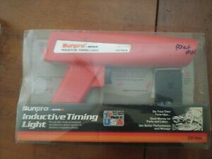 Free Shipping Vintage Sunpro Actron Iii Inductive Timing Light Cp7504 Usa