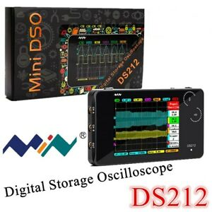 Ds212 Smart Lcd Digital Oscilloscope Usb Interface 1mhz 10msa s Coupling Ac dc
