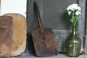 Primitive Bread Board Antique Serving Board Vintage Rustic Baking Wood Board