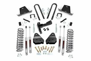 Rough Country 4 5 Lift Kit Fits 2005 2007 Ford Super Duty F250 F350 4wd