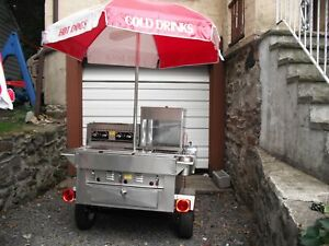 2013 4 X 7 Hot Dog Food Vending Cart For Sale In New York