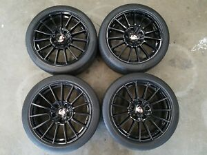 20 Porsche Panamera Sport Plus Oem Wheels Rims And Tires Cayenne Bbs Black Gts