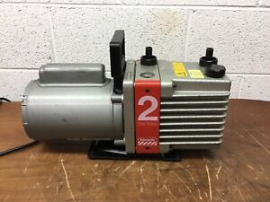 Oem Edwards Two Stage Rotary Vane Vacuum Pump Model E2m2