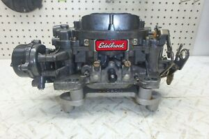 Edelbrock Performer 1406 600 Cfm Carb Carburetor Electric Choke
