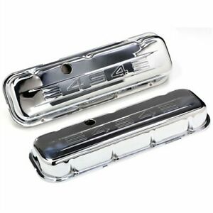 Pair Of 1965 Up Big Block Chevy Short Valve Covers 454 Logo Valve Covers Bbc