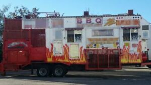 8 X 28 Mobile Kitchen Catering Concesion Trailer For Sale In California