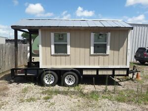 2017 7 X 16 Used Snowball Shaved Ice Concession Trailer With Porch For Sale