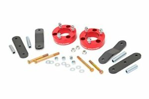 Rough Country 2 5 Lift Kit fits 2005 2020 Nissan Frontier Xterra Red