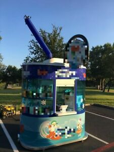 Hawaiian Shave Ice Business With Trailer Kiosk For Sale In Texas