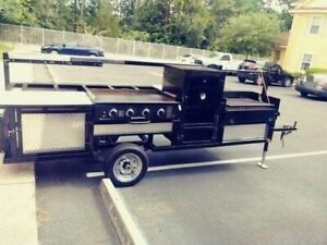 2017 Open Commercial Bbq Grilling Station For Sale In Florida
