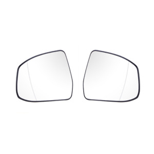 2x Door Side Rearview Wing Mirror Glass White Heated For Ford Focus 2012 2014