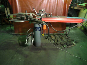 Hossfeld Bender Hydraulic Operation Rare With Dies Excellent Condition