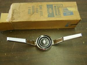 Nos Oem Ford 1964 Mercury Comet Steering Wheel Horn Ring Ornament Trim Emblem