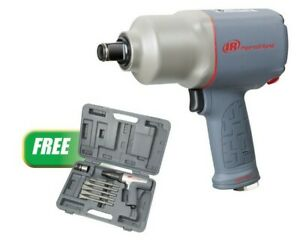 3 4 Drive Impactool W free Vibration reduced Long Barrel Air Hammer Kit New