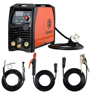 Tig Welder Pulse 200a Arc D c Stick Mma Inverter Igbt Digital Welding Machine