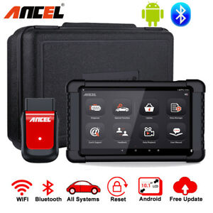 Bluetooth Full Systems Scanner android Tablet Automotive Diagnostic Tool Abs Srs
