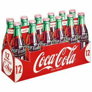 Coca-Cola 12 Pack Carton Wall Decal Vintage Style Kitchen Restaurant